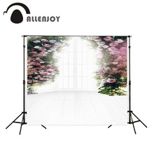 6.5ft x10ft wedding Background Photography backdrops sunny windowsill flowers Studio For baby custom size indoor photography