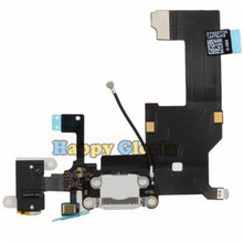 100% New High Quality Charger Charging Port Dock USB Connector Data Flex Cable For iphone 5 5G Ribbon Replacement Parts(China)