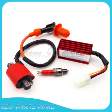 5 Pin Racing AC CDI Ignition Coil Spark Plug A7TC For Honda XR CRF 50 Dirt Pit Bike 70cc 90cc 110cc 125cc ATV Quad