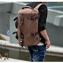 2016 New Fashion Backpack Canvas Men's Backpack Leisure Rucksack Travel Backpack School Bag Bagpack men Travel bag vintage