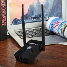 Comfast WiFi Amplifier Router Mini Wireless Repeater 300M Wifi Router Extender 10dBI Wi fi Antenna Roteador Signal Amplifier(China)