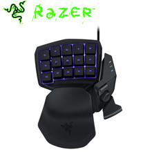 Razer Tartarus Chroma Expert RGB Keyboard Gaming Keypad 25 Fully Programmable Keys Include An 8 Way Thumb-pad Anti-ghosting Mice(China)