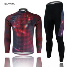 Buy XINTOWN Mens Team Ciclismo Cycling Jersey, BIB Pants Sets Sports Wear Bicycle Long Sleeve Clothing for $34.19 in AliExpress store