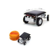 Mini Solar Power Car Toy Cool Children Toy Racer Car Children Educational Gadget Toy