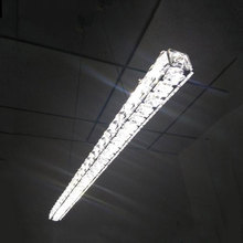 AC100-240V L70cm Samsung SMD LED crystal pendant light long decorative dining restaurant office lustres de sala moderno colgante