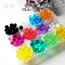 Free Shipping 2.5mm to 3mm Crystal soil/Crystal ball/sea baby grow up 15-25mm hydrogel beads water holder 10000PCS/lot(China)