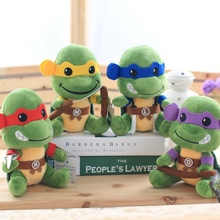Cute Plush New Hot Selling Ninja Turtles Toys Stuffed Tortoise Animal Dolls for Kids Great Present plush doll