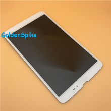 White 100% Tested For LG G Pad 8.3 V500 3G Version LCD Display Panel Module+Touch Digitizer Glass Screen Assembly Free Shipping