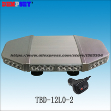 TBD-12L0-2 High quality  Led mini lightbar/High power 40W LED Car warning light bar /Heavy magnetic base LED light/DC12V/24V