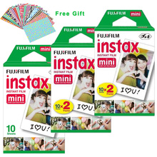Original Fuji Fujifilm Instax Mini 8 Film 35mm White 50 Sheets For 8 7 7s 50s 90 25 50i Share SP-1 Polaroid Instant Photo Camera