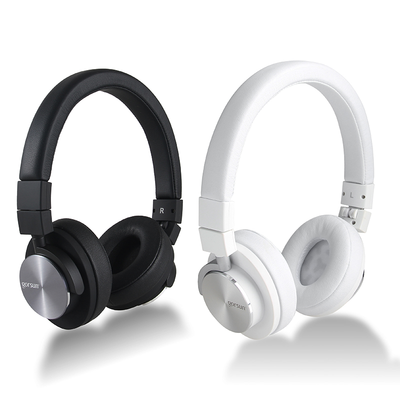 GS781 Headphones Foldable Design Noise-isolating HiFi 3.5mm plug With Non-tangling <br>