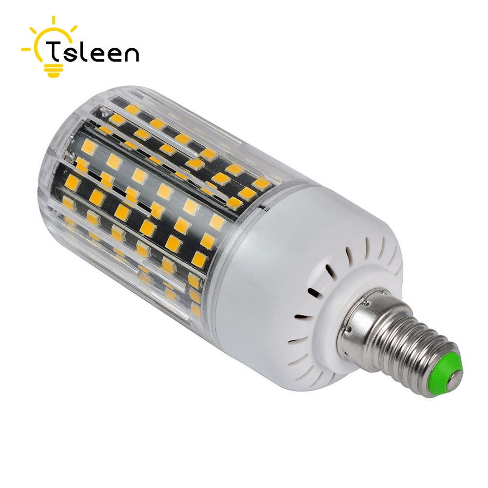 TSLEEN E27 Lampe E14 G9 GU10 B22 2835 LED Corn Bulb Lamp 220V 110V 11W 20W 25W Christmas Lampada Led Chandelier Candle Lighting(China (Mainland))