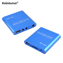kebidumei EU plug Mini Media Player 1080P Full HD with HOST Card Reader with EU plug Support HDMI for windows for mac(China)