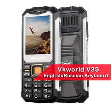 New Arrival VKworld Stone V3S 2.4 inch Dustproof Shockproof Mobile Phone Power Bank Long Standby Outdoor Army Multi Language(China)