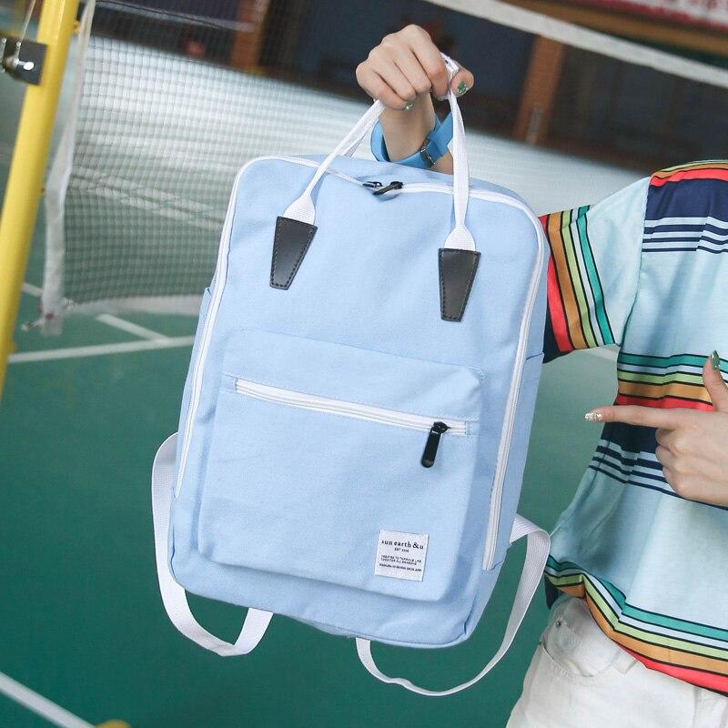 2017 Korean New Fashion School Bags Casual Canvas Backpacks For Teenage Girls Students Bookbag Travel Bags Mochila Should Bags<br><br>Aliexpress