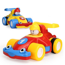 Mini Racing Cars Toys for Toddlers Push and Go Cars, Random Color, Gift for Babies Kids Boys - Pack of 2