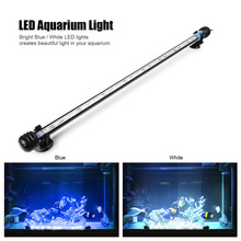 48CM 24 LED Underwater High Waterproof Aquarium Light Fish Tank and Pool Pond Decorative Lamp With EU US UK Plug AC100-240V