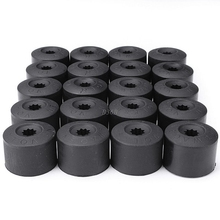 20PCS Wheel Nut Bolt Tire Screw Cover Cap Dust cover 17mm For VW Volkswagen MAY11