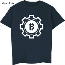 Buy New Fashion Bitcoin Design Print T-shirt Mens Cotton Short Sleeve T Shirt Hip Hop Tops Tees Summer Fitness T Shirt for $6.96 in AliExpress store
