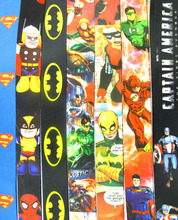Wholesale 10 Pcs  Batman Superman Neck Straps Lanyards Mobile Phone,ID Card,Key Condole belt Mixed T09