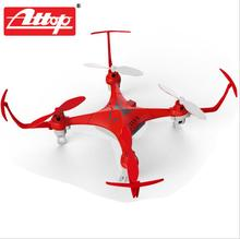 Attop YD-A1 Mini RC Quadcopter 2.4G Gyro Drone Children Electric Toys Helicopter Remote Control Cool Design Shatter Resistant#DA