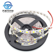 TXG Free Shipping 5m/roll 5050 60 LED/M 12V 30W Non-Waterproof LED STRIP Red/Blue/Yellow/Green/White/Warm White Strip Light(China)