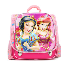 Baby Girls Princess Snow White Backpacks/Cartoon Dora Lightening School Bag/Creative Design 3D Sofia Kitty Shoulder Bag Mochila