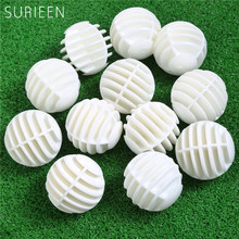 SURIEEN 12PCS Plastic Hollow Practice Golf Balls Golfer Swing Hit Training Balls Golf Accessories 40mm Golf Balls Random Color(China)