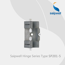 Saipwell SP201-5 zinc alloy kitchen cabinet door hinges types anti slam door hinges window hinges cover 10 Pcs in a Pack(China)