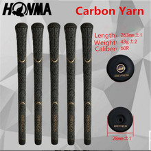Carbon Yarn Honma BERES ckg-205 golf grips midsize 10pcs/lot iron and wood golf clubs free shipping(China)