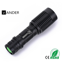 High Power Flash light CREE XML T6 2000 Lumens Mini Led Flashlight Torch linterna Protable Pocket Linternas Lampe Torche Camping