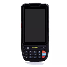 IPDA018 Rugged PDA Terminal 2016 latest design Handheld Android Barcode Reader with 4000mAbattery capacity portable pos terminal