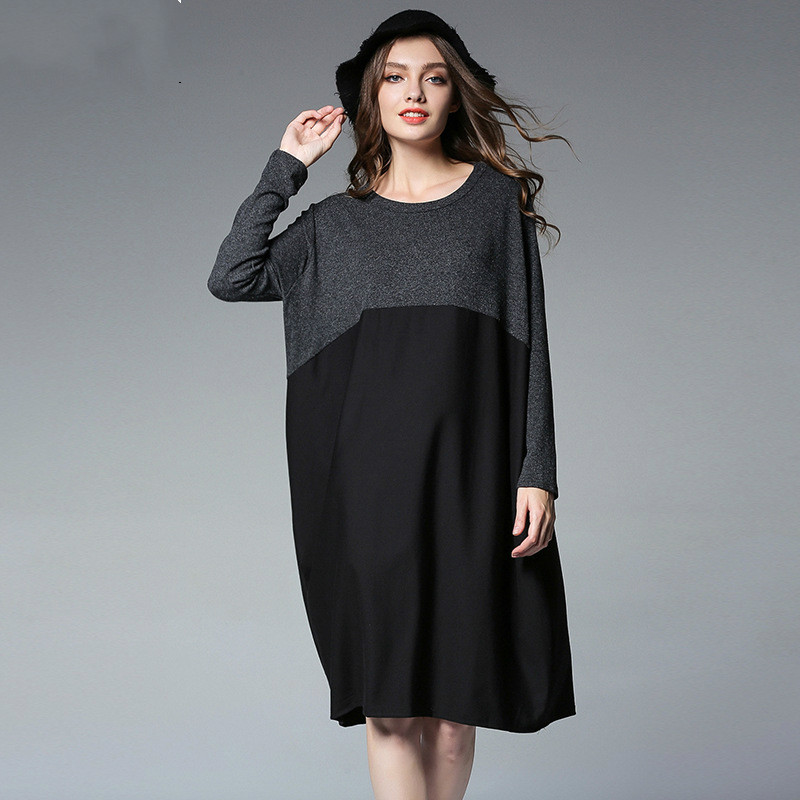 2018New Spring Maternity Dress Fashion Europe/America Women ForAge 25-35 Full Sleeve Pregnancy Dresses Patchwork Maternity Dress<br>