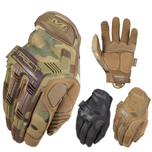 Brand M-Pact Multicam Tactical Gloves Military Army Paintball Airsoft Combat Combat Workout Gear Full Finger Gloves