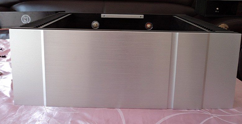 QUEENWAY CNC aluminum amplifier/Pure power amp Chassis Case/AMP Enclosure/430mm*150mm*413mm 430*150*413mm
