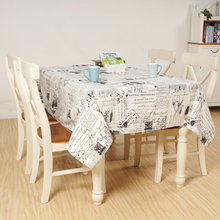 Modern Style Quality Table Cloth Dustproof Linen Cotton Hotel Dining Tablecloths Rectangular Toalha De Mesa 8 sizes