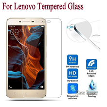 9H 2.5D Tempered Glass for Lenovo Vibe Shot Z90 S1 K3 Note A536 A328 A2010 P70 P780 K5 Note S850 Screen Protector Toughened Film(China)
