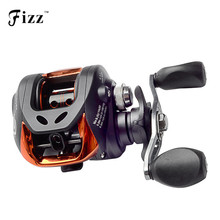 Quality 6.3:1 Baitcasting Fishing Reel Left/Right Hand 10+1BB Bait Casting Fishing Reel Sea Lake Lure Fishing Tackle Gear Onsale(China)