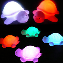 High Quality!!!Turtle LED Light 7 Colours Changing Night light Lamp Party Baby Bedroom Lamp Kids Birthday Gifts Wholesale(China)
