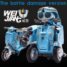 Sqweeks Pre-Ordero  toys Transformation 5 toy robot MW-002 versize metal part Sqweeks Figure The last Knight Boy toys WEIJIANG