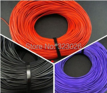 diy headphone cable Fever copper wire TPE stereo casual line Signal line Anti-stretched 10meters