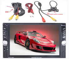 Universal 2 din (No Android) Car (NO DVD) player (NO GPS) +Bluetooth+Radio +Capacitive Touch Screen car stereo+car pc+aduio