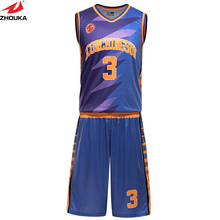 full sublimation OEM team jerseys basketball reversible basketball cheap custom uniforms