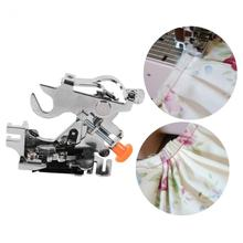 Adjustable Presser Foot Ruffler Sewing Machine Presser Foot Low Shank For Brother Singer Janome Sewing Machine Accessories(China)