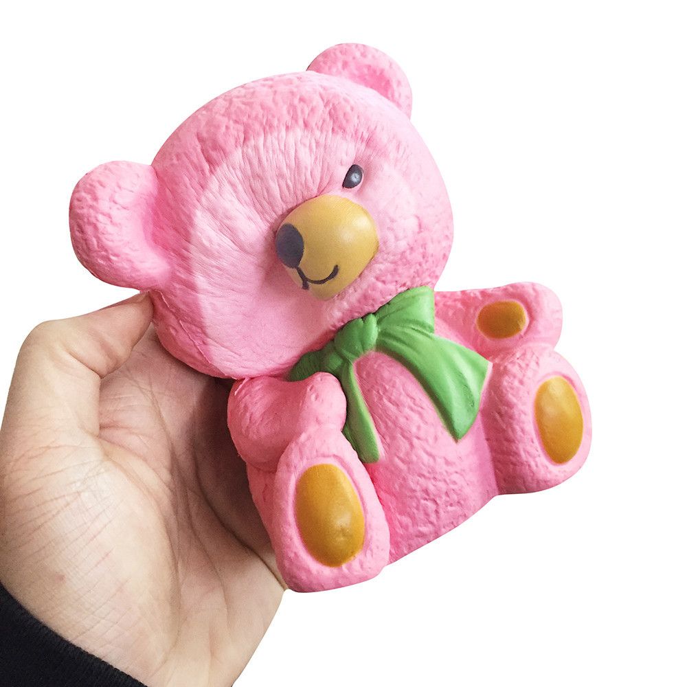 Color Change Super Soft Bear Squishy 3