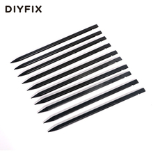 DIYFIX 10Pcs Anti Static Plastic Spudger Nylon Stick Pry Opening Tool for iPhone iPad Samsung Smartphone Repair Hand Tools Set(China)