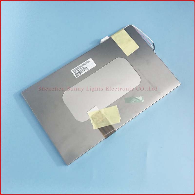 New LCD For C070FW01 V0  7LCD Screen Panel  Tablet pc LCD display Replacement <br>