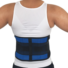 Waist Brace Neoprene Double Pull Posture Support Brace Lumbar Lower Back Support Brace Exercise Belt(China)