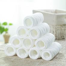 1pc 3 Layer 100% Washable Baby Care Products Insert Reusable Cotton Baby Diapers Cloth Swim Diaper Inserts on sales(China)