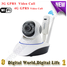 New 3G/4G All Mode available IP camera sim card WiFi CCTV camera gsm h.264 onvif Night vision Webcam Mobile View security camera